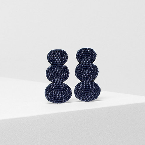 Jens Stacked Clip On Earring - Moonlight
