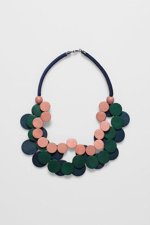 Sona Necklace - Roccoco/Cactus/Seaweed
