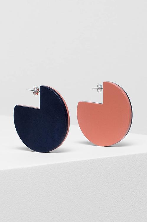 Adela Earring - Navy/Roccoco