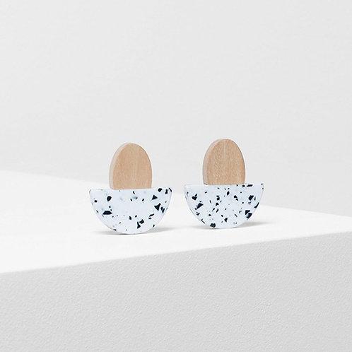 Kerda Earring - White