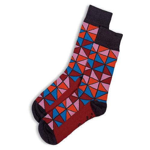 Tiffany Socks - Red