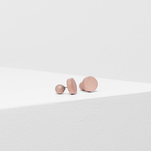 Paz Stud Earring - Champagne