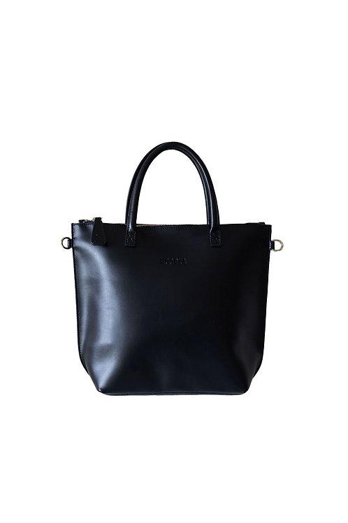Hoopla Mini Zip Bag - Black