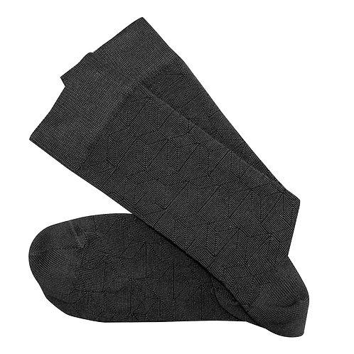 Theatre Long Socks - Charcoal