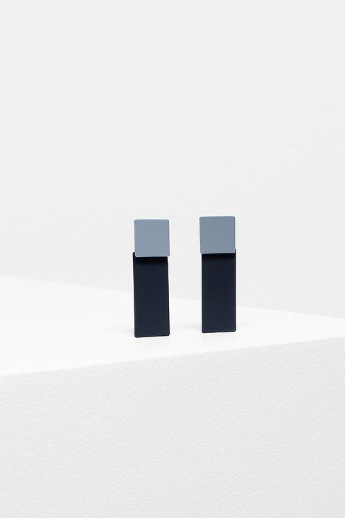 ELK - Tage Drop Earring - Grey/Black