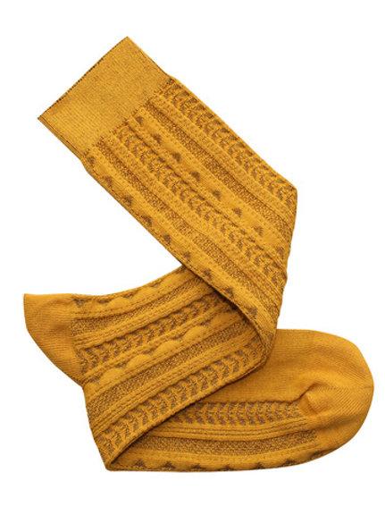 Tevere Long Socks - Ochre