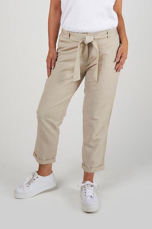 Straight Leg Pant - Sand