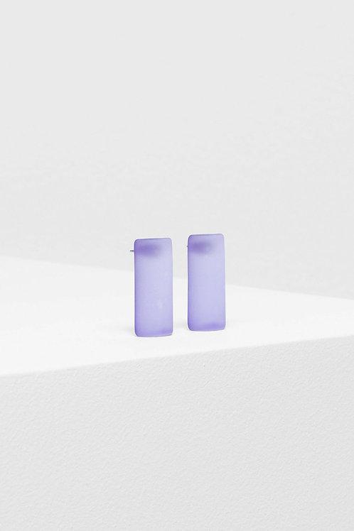 ELK - Klar Drop Earring - Purple