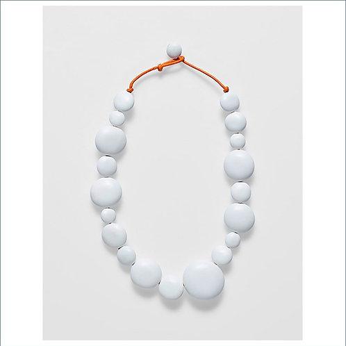 Ari Short Necklace - White