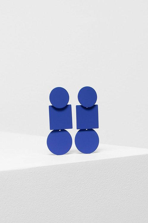 Fala Drop Earrings - Blue