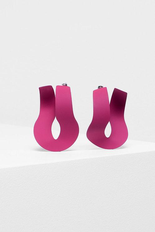 Loppa Earring - Mauve
