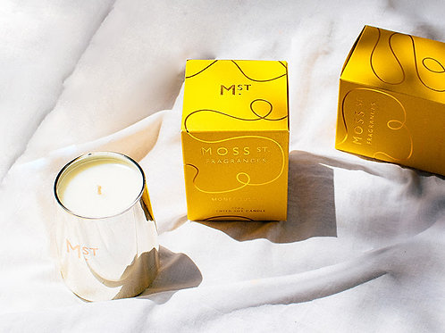 Monet Tulips Candle - Limited Edition