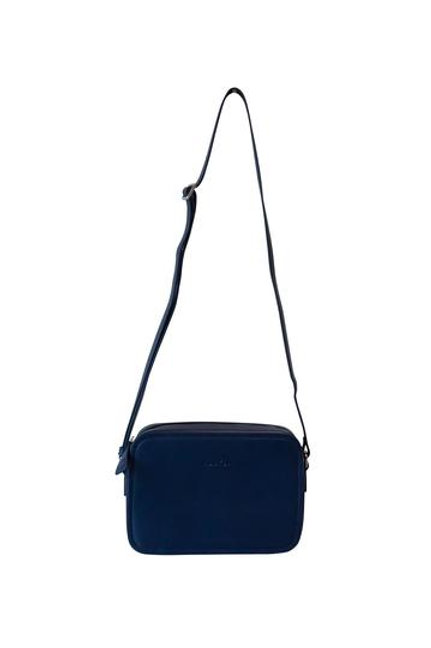 Hoopla Cross Body Box Bag - Navy