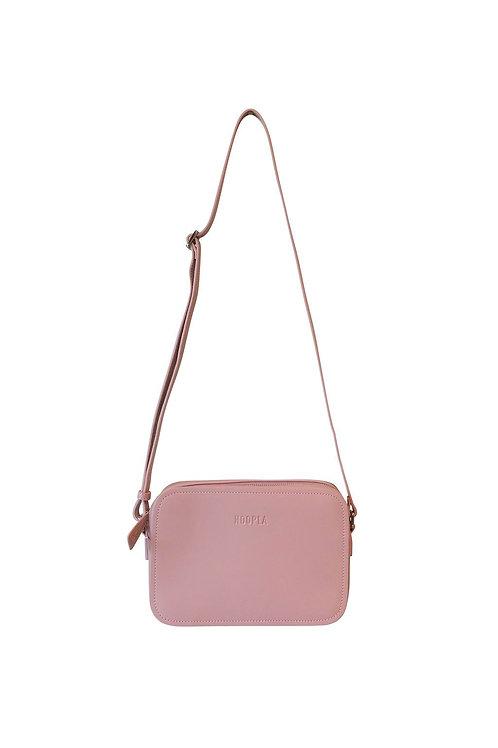Hoopla Cross Body Box Bag - Dusty Pink