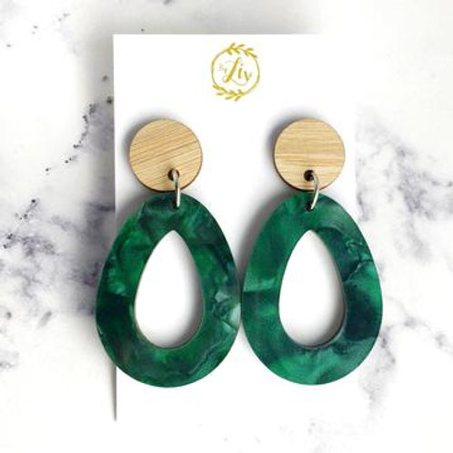 Green Marble Stunners