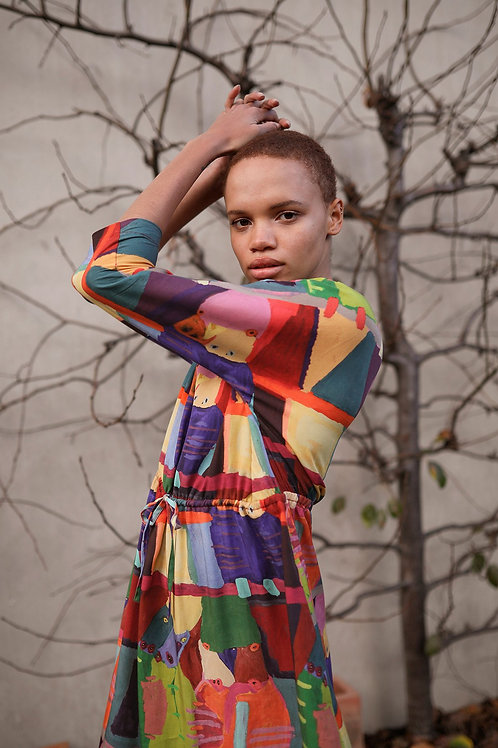 Jasmine Dress - Bird Dreaming