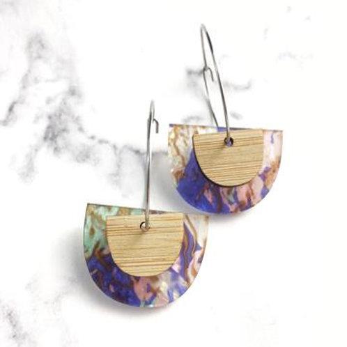 Pastel Hoop Earrings