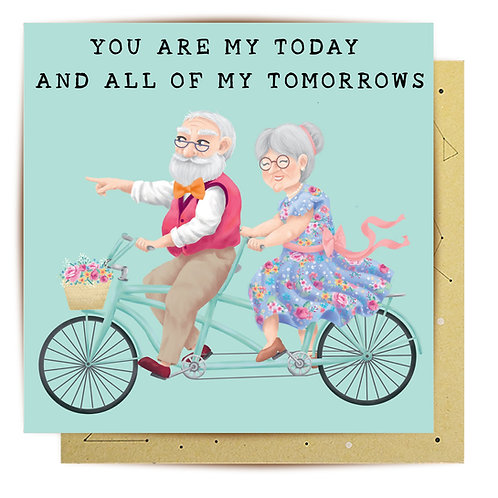 Greeting Card My Tomorrows Couple