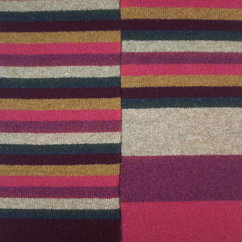 No.1 Lambswool Scarf - Rosehip Pink