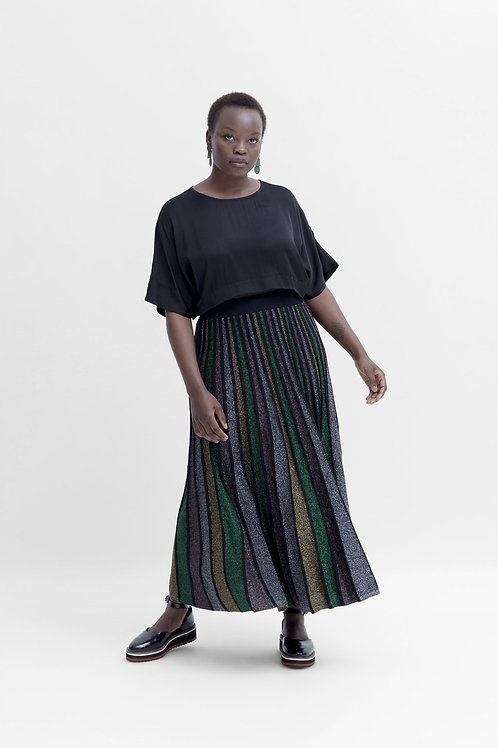Ander Metallic Skirt