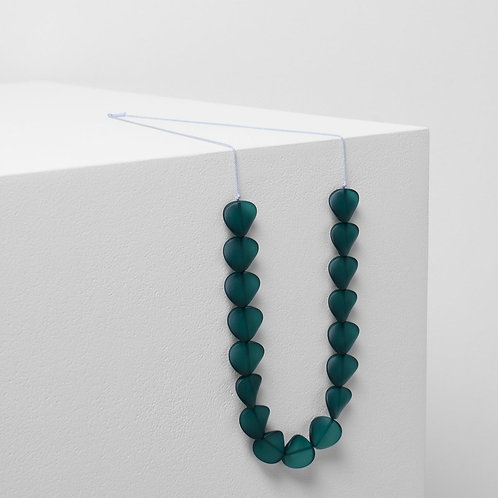 Varna Necklace - Seaweed/Lilac
