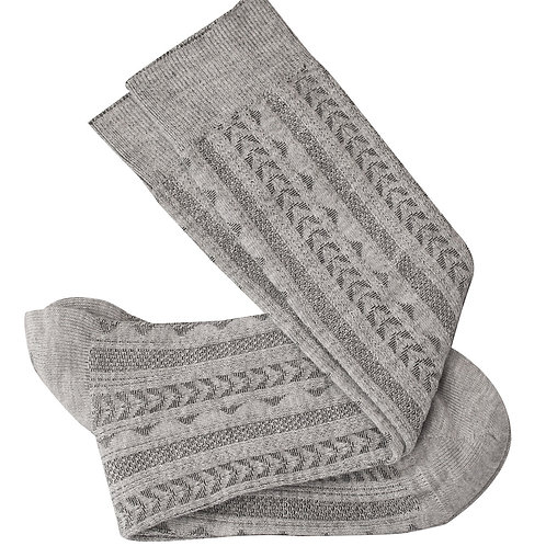 Tevere Long Socks - Grey