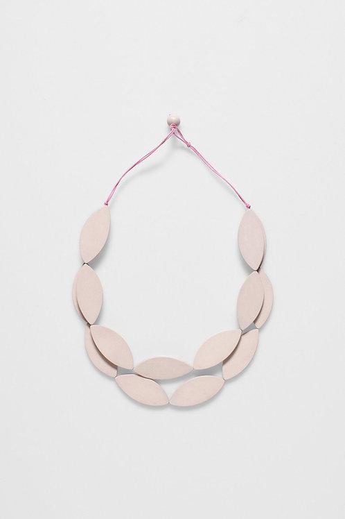 Leaf Necklace - Blush