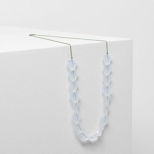 Varna Necklace - Clear/Celery