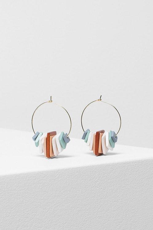 Caren Earring - Light Multi