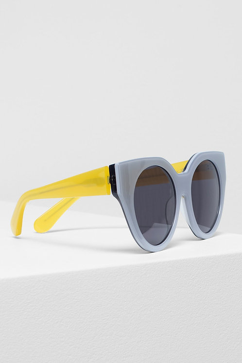 Naema Sunglasses - Smoke/Yellow