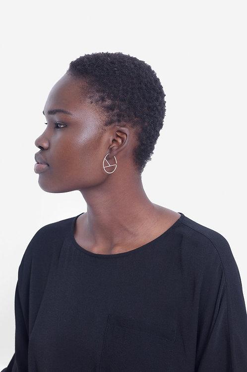 Hallie Earring - Silver