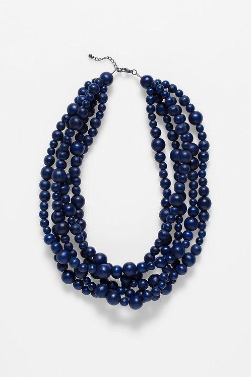 ELK - Aari Multi Strand Necklace - Navy