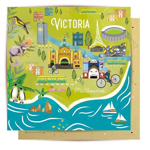 Greeting Card Victoria