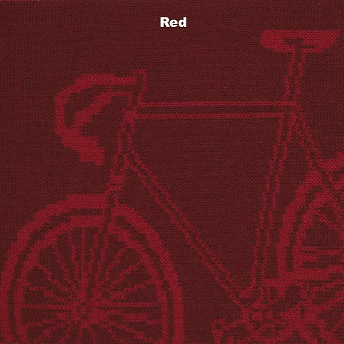 Bike Merino Scarf - Red