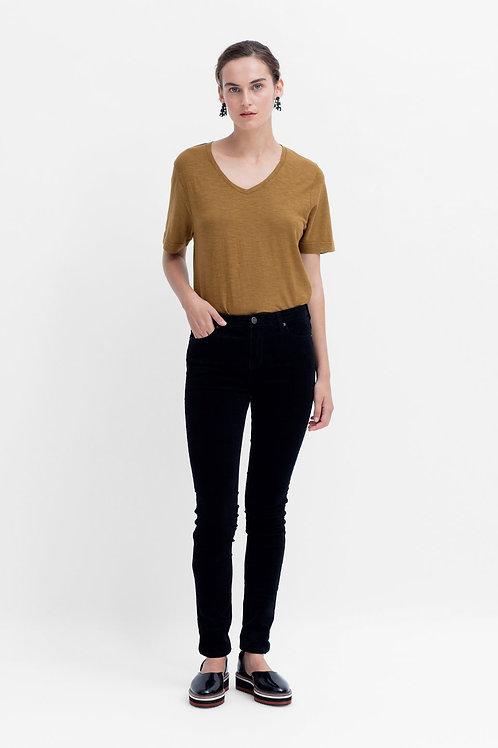 Vand Cord Jeans - Black