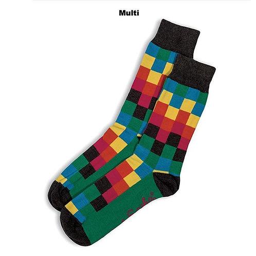 Diffused Socks - Multi
