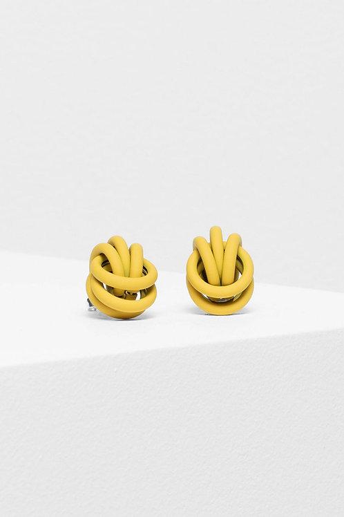 Bojor Stud Earring - Yellow