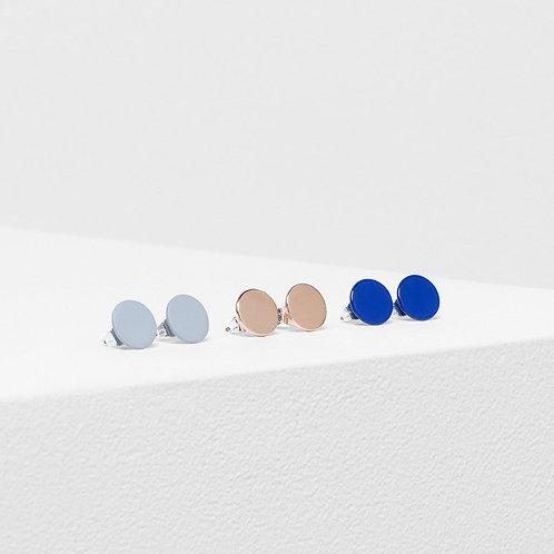 Hvar Earrings 3 pack - Silt/Iris Blue/Rose Gold