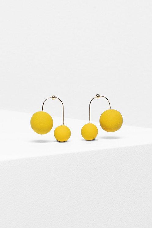 Aari Drop Earring - Lemon Yellow