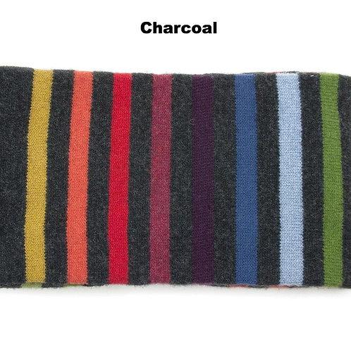 Pantonia Lambswool Scarf - Charcoal