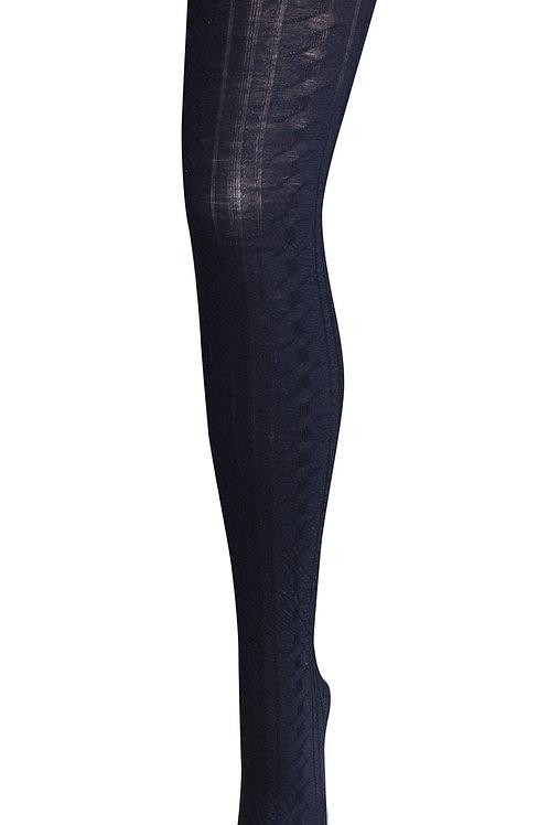 Montemartini Wool Tights - Navy