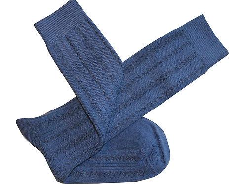 Monte Long Socks - Blue