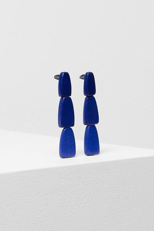 Gruva Drop Earring - Blue