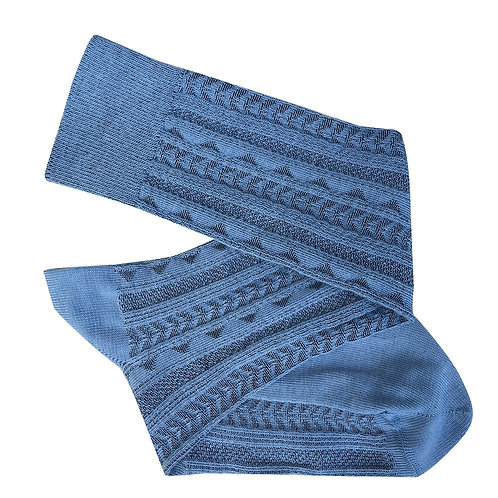 Tevere Long Socks - Denim
