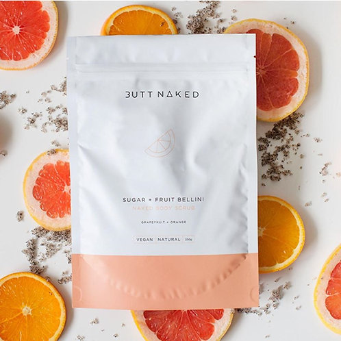 Sugar + Fruit Bellini Scrub