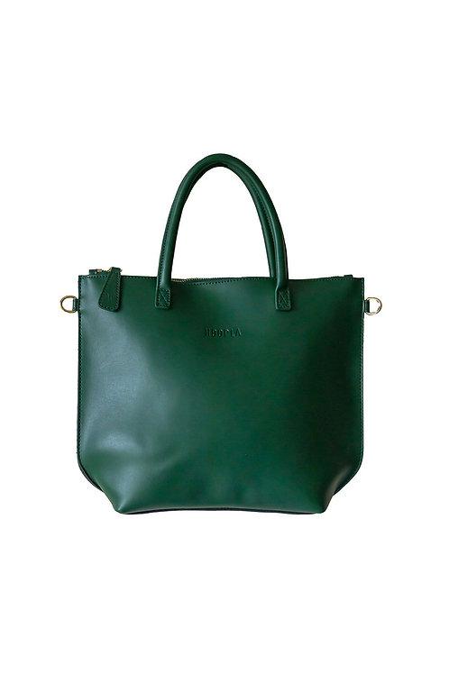Hoopla Mini Zip Bag - Jade Green