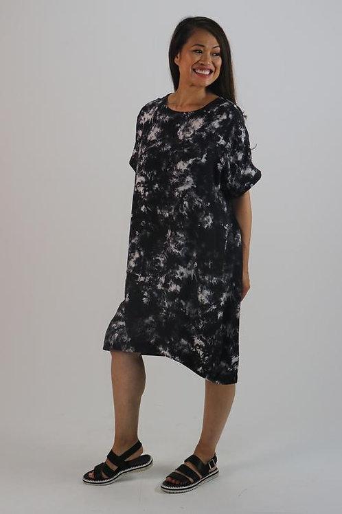 Cocoon Dress - Tie Dye