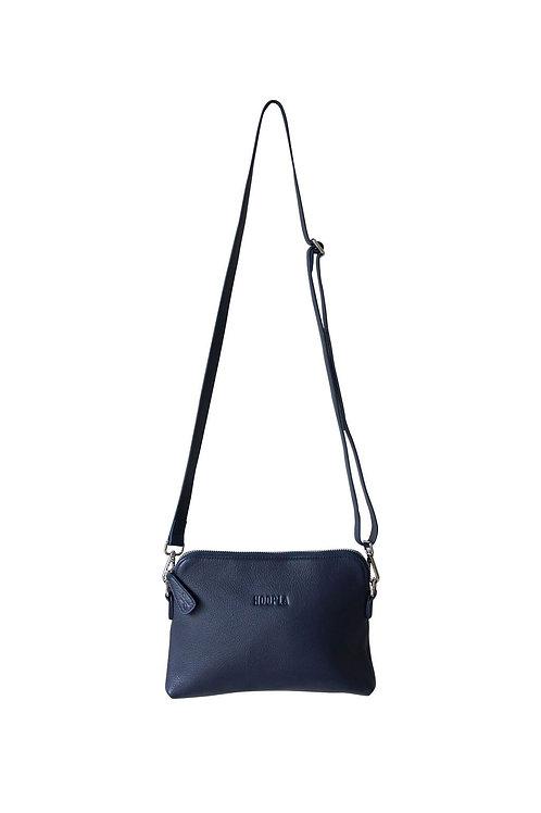Hoopla Mini Cross Body Slouch Bag - Navy