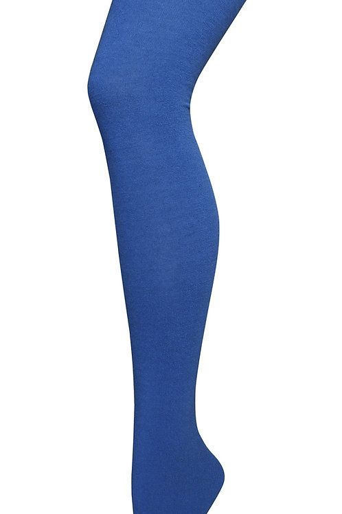 Luxe Wool Tights - Blue