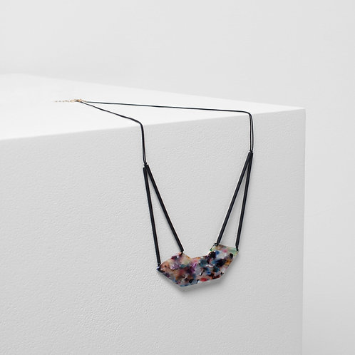 Heden Necklace - Black Multi